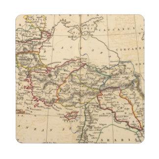 Imperio otomano posavasos de puzzle