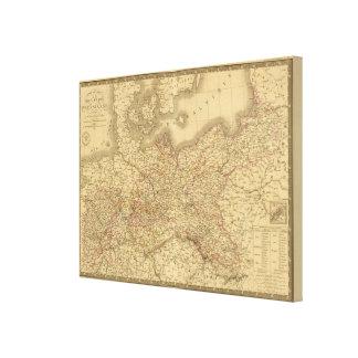 Imperio prusiano 2 impresión en lienzo