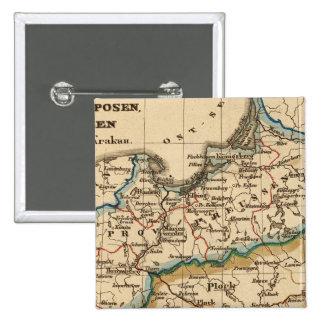 Imperio prusiano pin cuadrada 5 cm