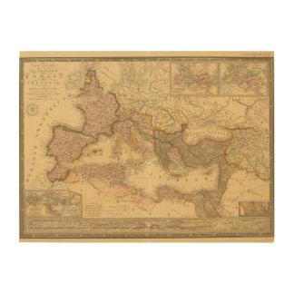 Imperio romano 2 cuadro de madera