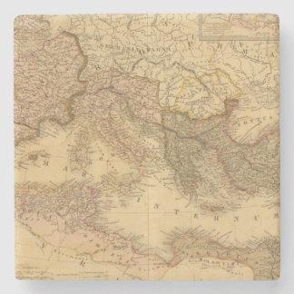 Imperio romano 2 posavasos de piedra