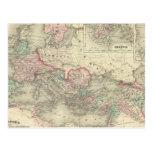 Imperio romano a la hora de Cristo Tarjeta Postal