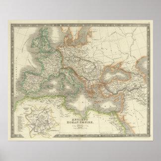 Imperio romano antiguo impresiones