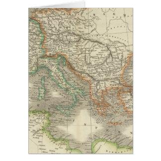 Imperio romano antiguo tarjeta de felicitación