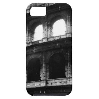 Imperio romano blanco negro de Colosseum iPhone 5 Carcasa