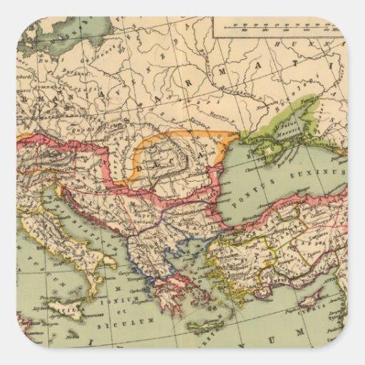 Imperio romano colcomania cuadrada