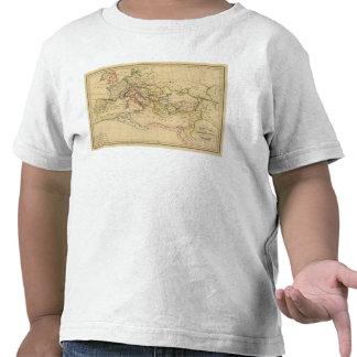 Imperio romano debajo de Constantina y de Trajan Camisetas