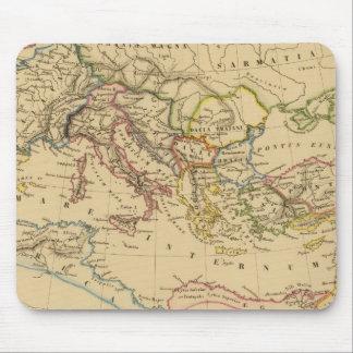 Imperio romano debajo de Constantina y de Trajan Alfombrilla De Ratones