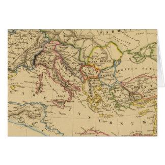 Imperio romano debajo de Constantina y de Trajan Felicitación