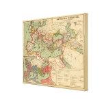 Imperio romano impresión de lienzo