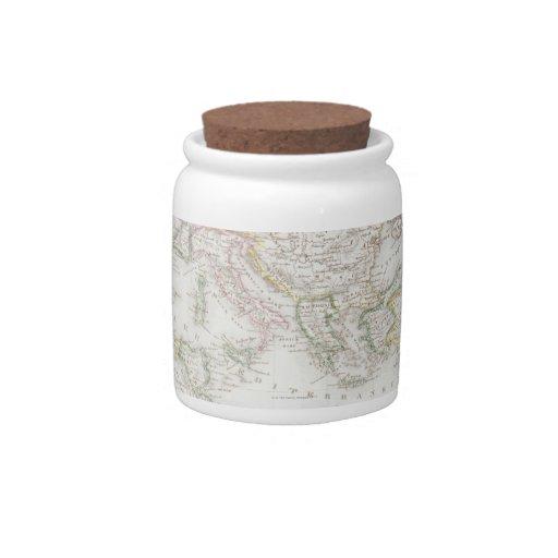 Imperio romano jarra para caramelo