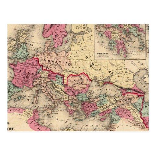 Imperio romano postales