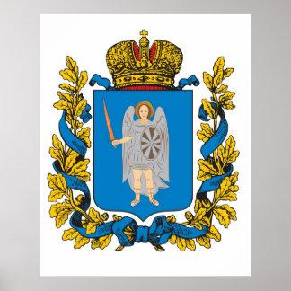 Imperio ruso del Governorate de Kiev Poster