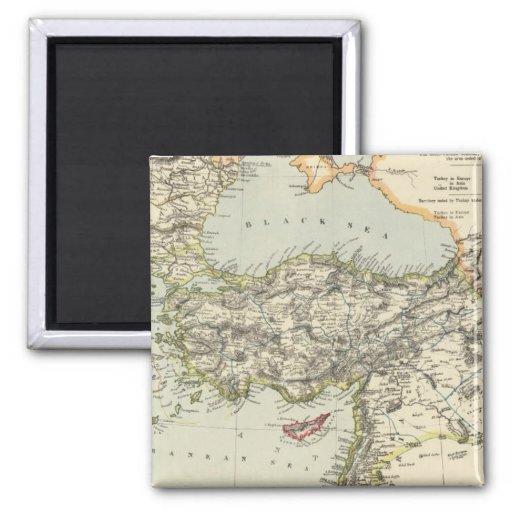 Imperio turco, Grecia, Rumania Imán Cuadrado