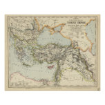 Imperio turco, Grecia, Rumania Póster