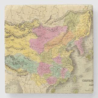 Imperio y Japón chinos Posavasos De Piedra