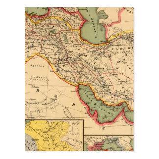 Imperios antiguos de los persas, macedonios del mu tarjetas postales