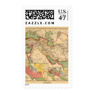 Imperios antiguos de los persas, macedonios del sellos postales