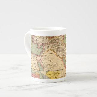 Imperios antiguos de los persas, macedonios del taza de porcelana