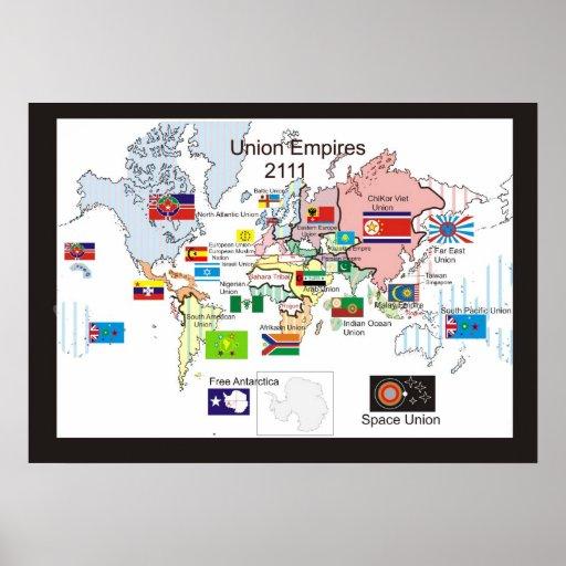 Imperios de la unión: 2111 póster