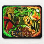 Imperios del palillo - los 3 imperios alfombrillas de ratones