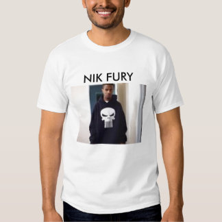 IMPERIUM MEMBER NIK FURY SHIRT