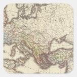 Imperium Romanorum Pegatina Cuadrada