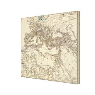 Imperium Romanum inde a bello Canvas Print