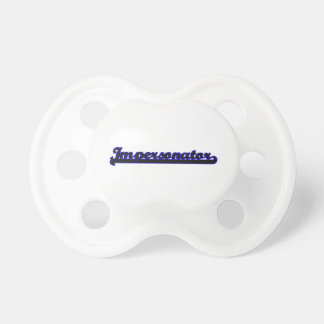 Impersonator Classic Job Design BooginHead Pacifier