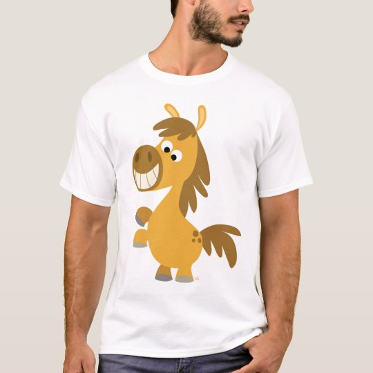 Impetuous Cartoon Pony Children T-shirt