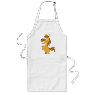 Impetuous Cartoon Pony Cooking Apron