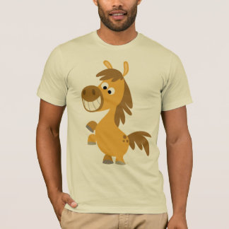 Impetuous Cartoon Pony T-shirt