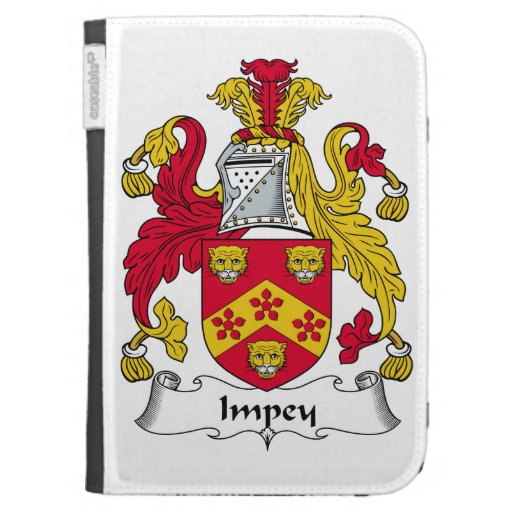 Impey Family Crest Kindle Case