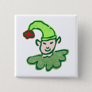 Impish Elf Square Button