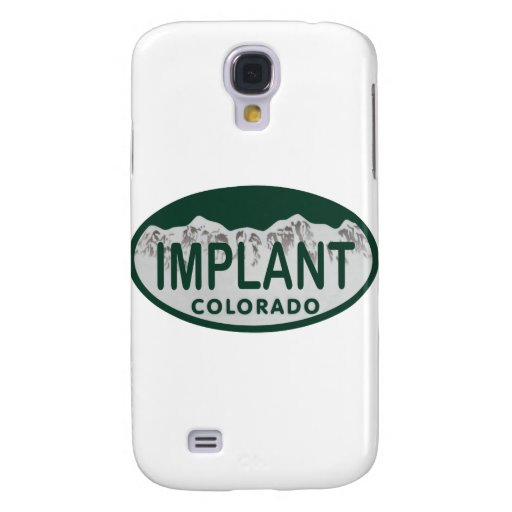 Implant license oval galaxy s4 case