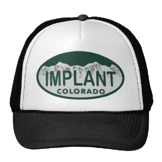 Implant license oval hats