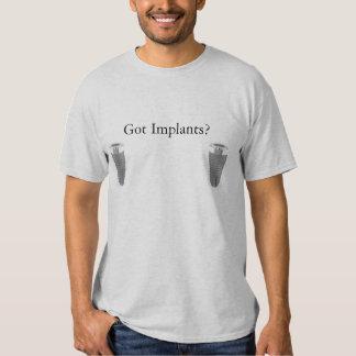 ¿Implantes conseguidos? Playera