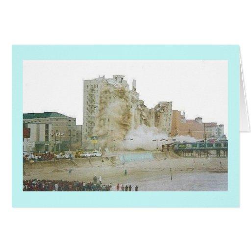 Implosión II del hotel de Bucanero Felicitación