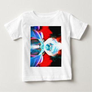 Implosión pintada abstracta tee shirts
