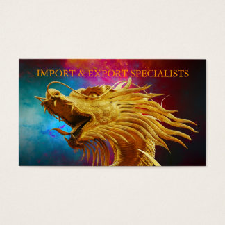 Import & Export business card