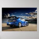 Import Racer - Sti Subaru Poster