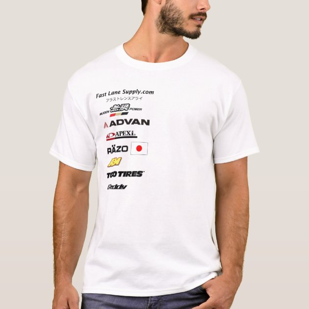 Import Racing Sponsorship T Shirt  Clothing Sponsorship