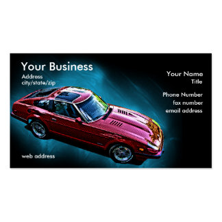 Import - Z Car Business Card