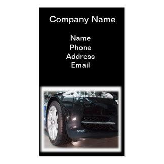 Importación y servicio de coches de lujo tarjeta de visita