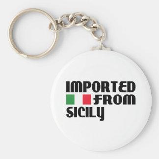 Importado de Sicilia Llavero Redondo Tipo Pin