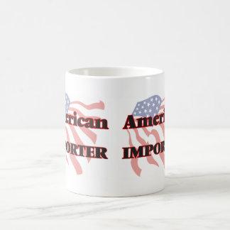 Importador americano taza básica blanca