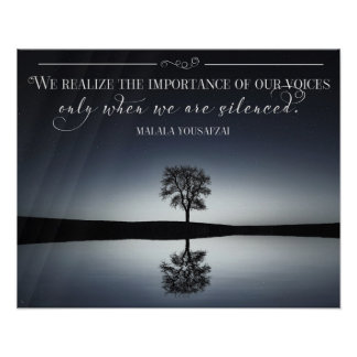 Importance Of Our Voices Poster