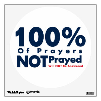 Importance of Prayer Wall Sticker