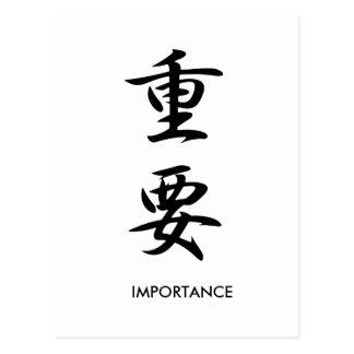Importancia - Juuyou Postal