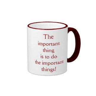 Important Coffee Mugs